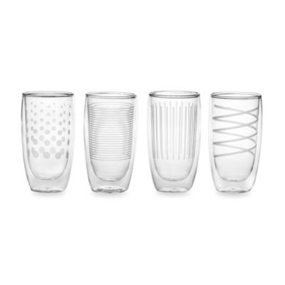 Mikasa® Cheers Insulated Hi Ball Glasses (Set of 4)