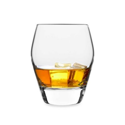 Luigi Bormioli Prestige 15-Ounce Double Old Fashioned Glass (Set of 4)