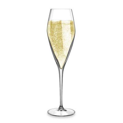 Luigi Bormioli Prestige 9.5-Ounce Champagne Flute Stemware (Set of 4)