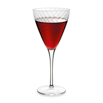 Luigi Bormioli Hypnos Optic 16.25-Ounce Red Wine Glasses (Set of 4)