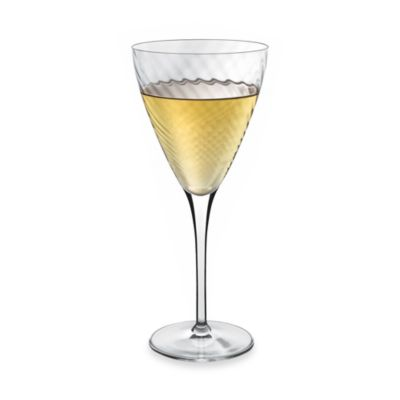 Luigi Bormioli Hypnos Optic White Wine Glasses (Set of 4)