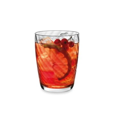Luigi Bormioli Hypnos Optic 13.5-Ounce Tumbler Glasses (Set of 4)