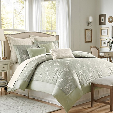 verona 4 piece full comforter set pretty and tranquil the verona