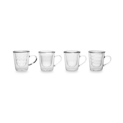 Mikasa® Cheers Insulated Espresso Glasses (Set of 4)