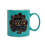 Chalk Cream Coffee 16-Ounce Can Mug