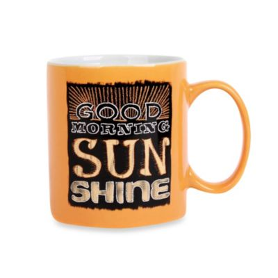 Chalk Sunshine 16-Ounce Can Mug