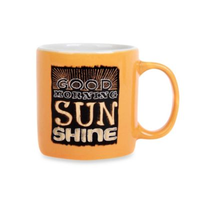 Chalk Sunshine Demitasse 3-Ounce Mug