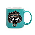 Chalk Yourself Demitasse 3-Ounce Mug