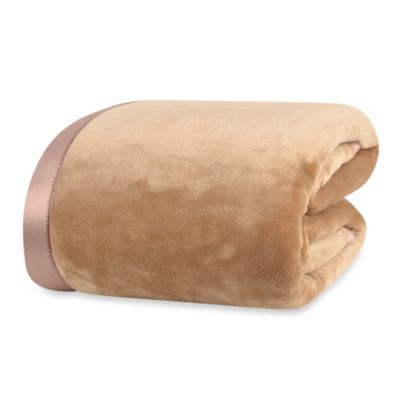 Berkshire Blanket® VelvetLoft™ Full/Queen Blanket in Prosecco