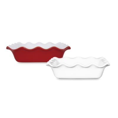 Emile Henry® 9-Inch Square Ruffled Edge Baking Pan