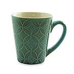 222 Fifth Zellige 13-Ounce Mug in Blue