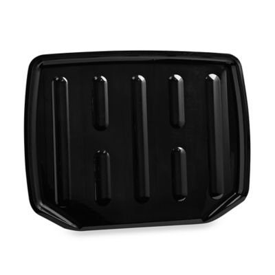 Large Drainer Tray in Black