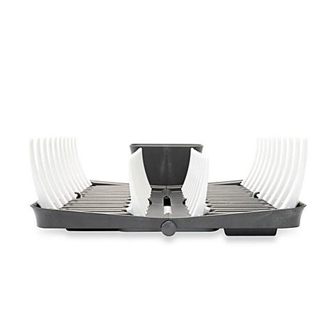 Adjustable Amp Foldable Dish Rack Bed Bath Amp Beyond