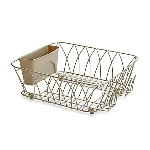 Buy Tuscan Dish Rack In Champagne From Bed Bath Amp Beyond