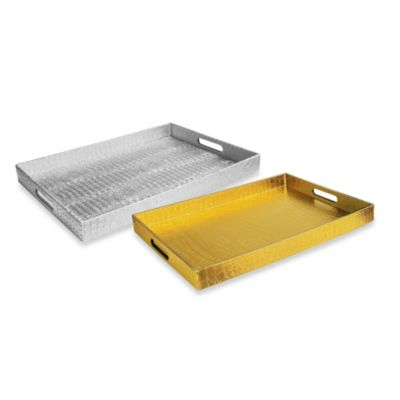 Alligator Rectangular Serving Tray