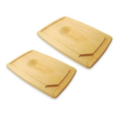J.K. Adams Co. Pour Spout 16-Inch Serving Board