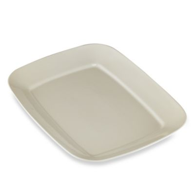 Real Simple Rectangular Large Serving Platter Dining