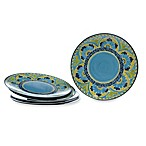 Certified International Melamine Round 11-Inch Dinner Plates (Set of 6)