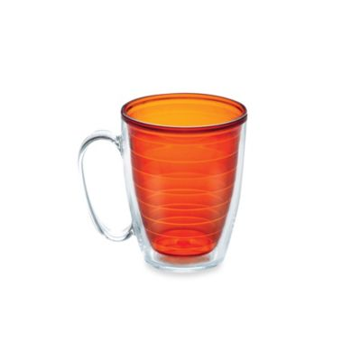 Tangerine Colored Mug