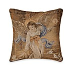 Holiday Angel of Light 17-Inch Square Toss Pillow
