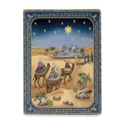 And it Came to Pass Decorative Tapestry Throw