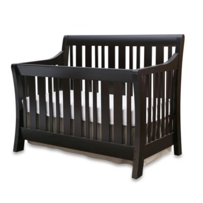 Nursery Smart Darby Convertible Crib in Espresso