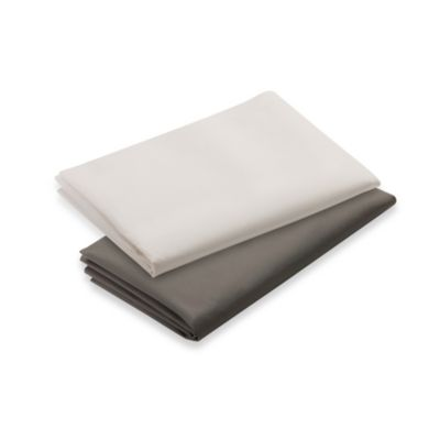 Graco® Pack 'n Play® 2-Count Playard Sheets in Brown and Cream