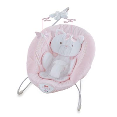 Pink White Deluxe Bouncer
