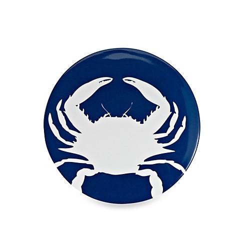 Icon Crab Round 8.8-Inch Salad Plate - BedBathandBeyond.com