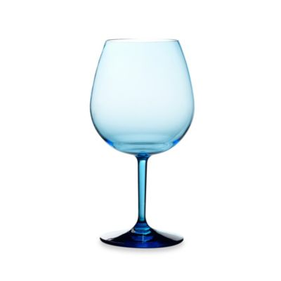 Tritan 23-Ounce Cool Blue Molded Red Wine Glass