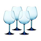 Cool Blue 23-Ounce Red Wine Glasses (Set of 4)
