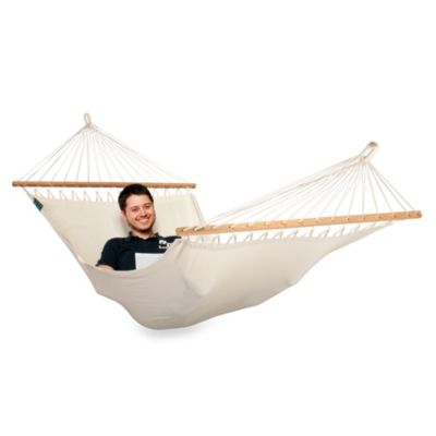 Coolaroo Single Person Organic Cotton Hammock with Bar