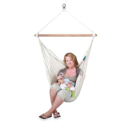 Coolaroo Organic Cotton Hammock Chair with Bar