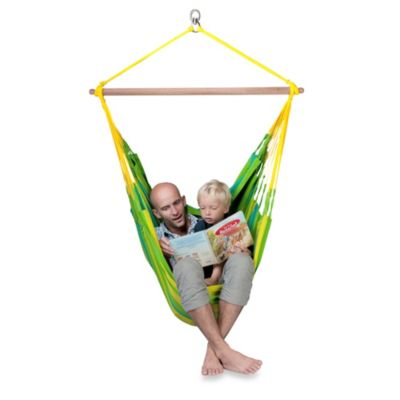 Coolaroo Deluxe Hammock Chair in Mandarin