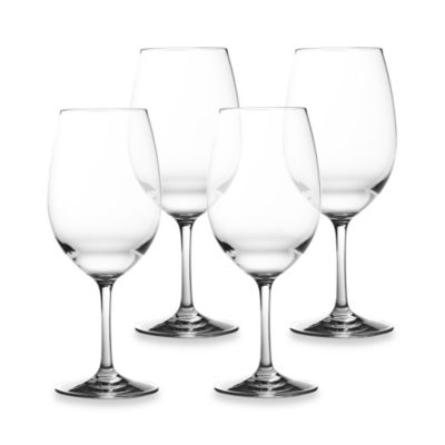 Tritan 21-Ounce Clear Wine Glasses (Set of 4)