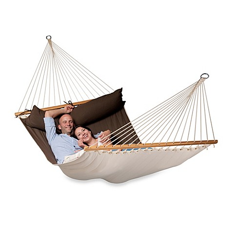 Buy Coolaroo Double Person Hammock With Bar In Arabica