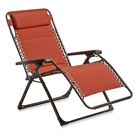 Deluxe oversized padded adjustable zero gravity chair for Anti gravity chaise