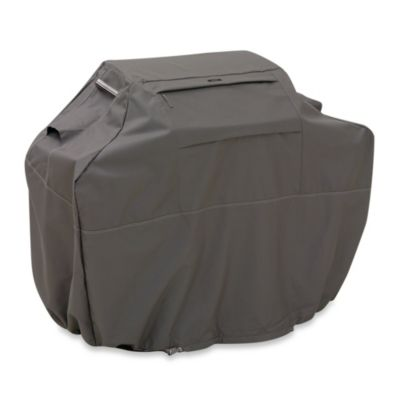 Classic Accessories® Ravenna Double Extra-Large Grill Cover in Dark Taupe