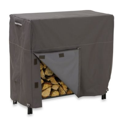 Classic Accessories® Ravenna Large Log Rack Cover in Dark Taupe