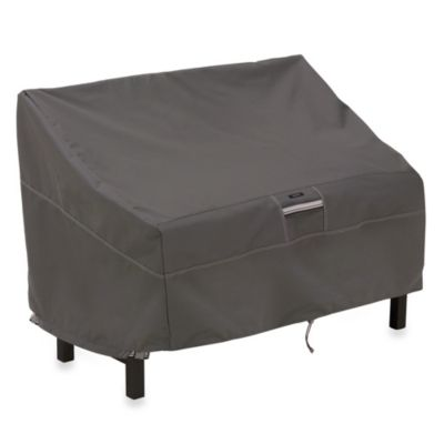 Classic Accessories® Ravenna Bench Cover in Dark Taupe