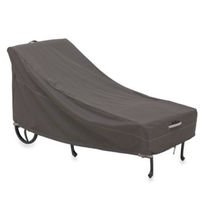 Classic Accessories® Ravenna Patio Chaise Cover in Dark Taupe