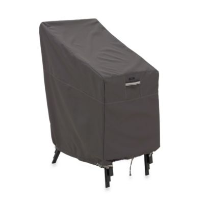 Classic Accessories® Ravenna Stackable Chair Cover in Dark Taupe