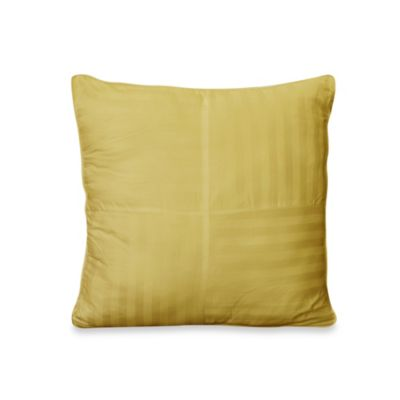 Wamsutta® 500 Damask Square Pillow in Yellow