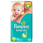 Pampers® Baby Dry Size 1 44-Count Diapers