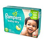 Pampers® Baby Dry™ 32-Count Size 3 Jumbo Diapers