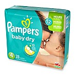 Pampers® Baby Dry™ 28-Count Size 4 Jumbo Pack Disposable Diapers