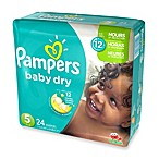 Pampers® Baby Dry™ 24-Count Size 5 Jumbo Pack Disposable Diapers