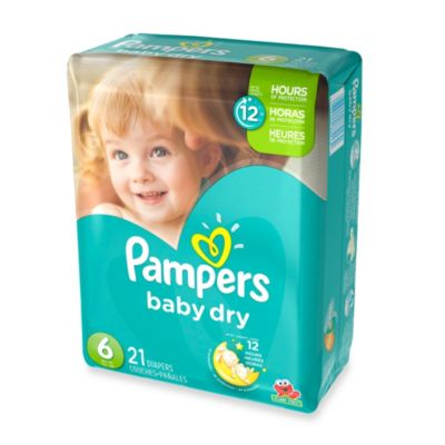 Pampers® Baby Dry™ 21-Count Size 6 Jumbo Pack Disposable Diapers