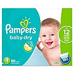 Pampers® Baby Dry™ 180-Count Size 4 Economy Pack Plus Disposable Diapers