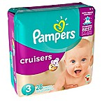 Pampers® Cruisers™ 28-Count Size 3 Jumbo Pack Disposable Diapers